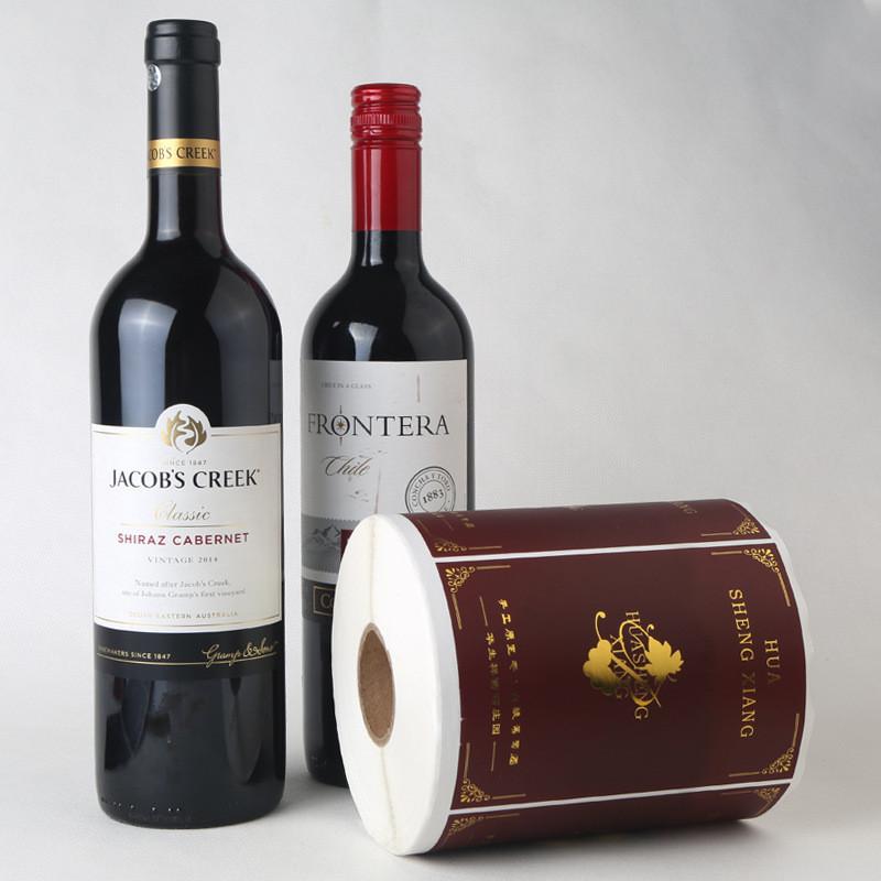 CCWLE095 şarap şişesi boyun etiketi