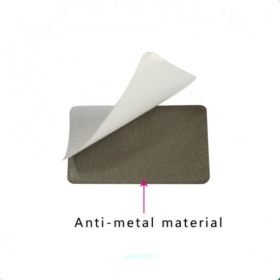 HF anti-metal label