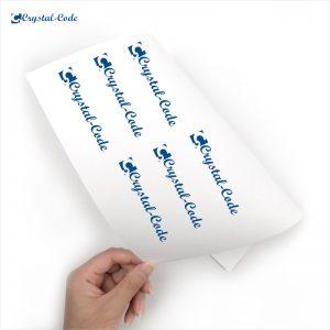 A4 waterproof sticker paper inkjet paper matte paper inkjet sticker