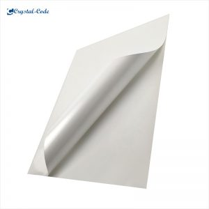 Clear Self Adhesive Transparent Custom Vinyl PP Sticker Paper A4 Size For Laser Printing Labels