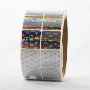 CCHLPET020 customized hologram sticker sheet label