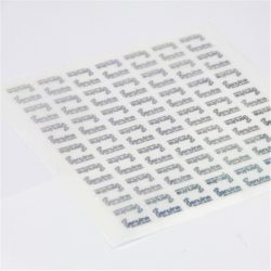 CCHLPR020 hologram 10ml vial label maker