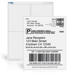 CCMLLG050 adhesive shipping label (2)