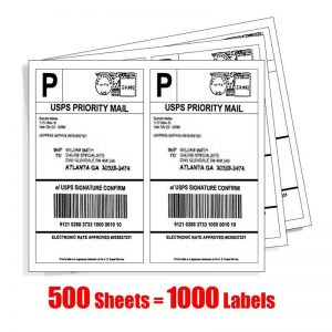CCMLLG050 adhesive shipping label
