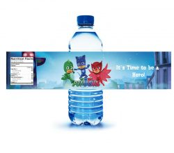 CCPPW040 shrinkable water bottle label