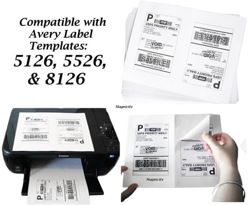 Ccuss050 8 5 X 11 Us Standard Express Shipping Labels Ups Shipping Label Manufacturer Crystal