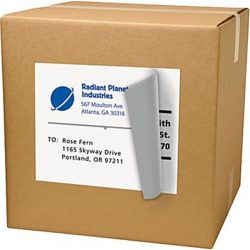 CCUSS050 8.5 x 11 US standard express shipping labels (4)
