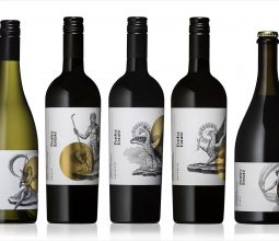 CCWLW100 self adhesive sticker label for wine bottle