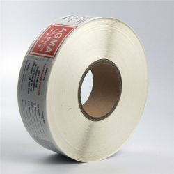 Direct thermal paper label 2