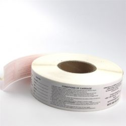 Direct thermal paper label