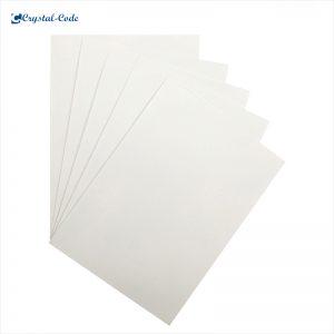 Self adhesive printing paper