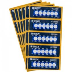 Thermal Indicator Stickers (8)
