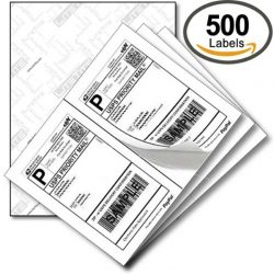 US standard express shipping labels