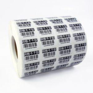 barcode label sticker