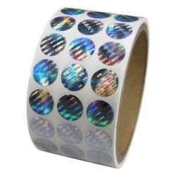 customized hologram sticker sheet label