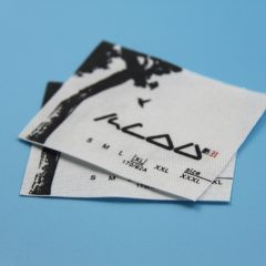 fabric material label