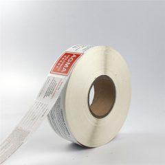 paper material label
