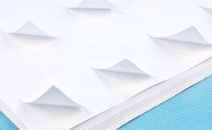 8.5*11 inch A4 paper vinyl inkjet transparent film self-adhesive sticker