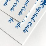 Customized a4 matte waterproof sticker paper wholesale 150pcs/pack